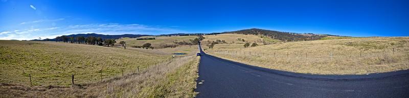 The Tarana Road, leading to Sodwalls.