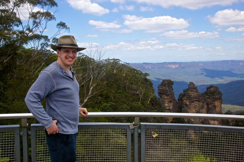 John at Echo Point.