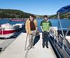 Grandpa Edmund and Benjamin at San Pablo Reservoir