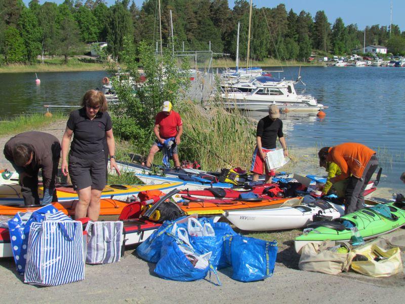 Starten vid Dalarö  foto Anita Karlén