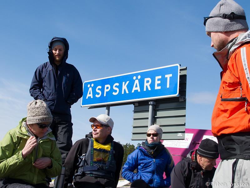 Samling vid Äspskär