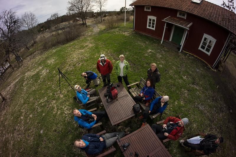 Lite från ovan ser man att jorden är rund medhjälp av Bengts fjärrpinne.