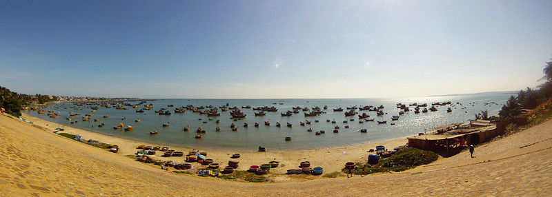 The Mui Ne fishing village supplies a quite impressive amount of seafood to the local restaurants and beyond.