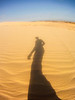 We spent an hour or so checking out the white sand dunes, covering a few square kilometers of the local landscape.