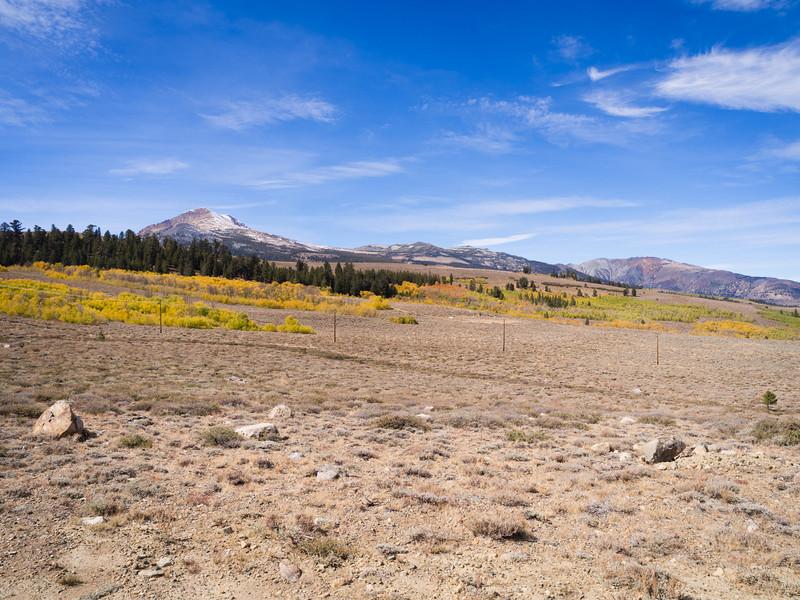 Open view of Dunderberg Peak