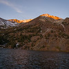 Virginia Lake before sunrise