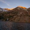 Virginia Lake before sunrise