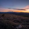Sunrise above Conway Summit