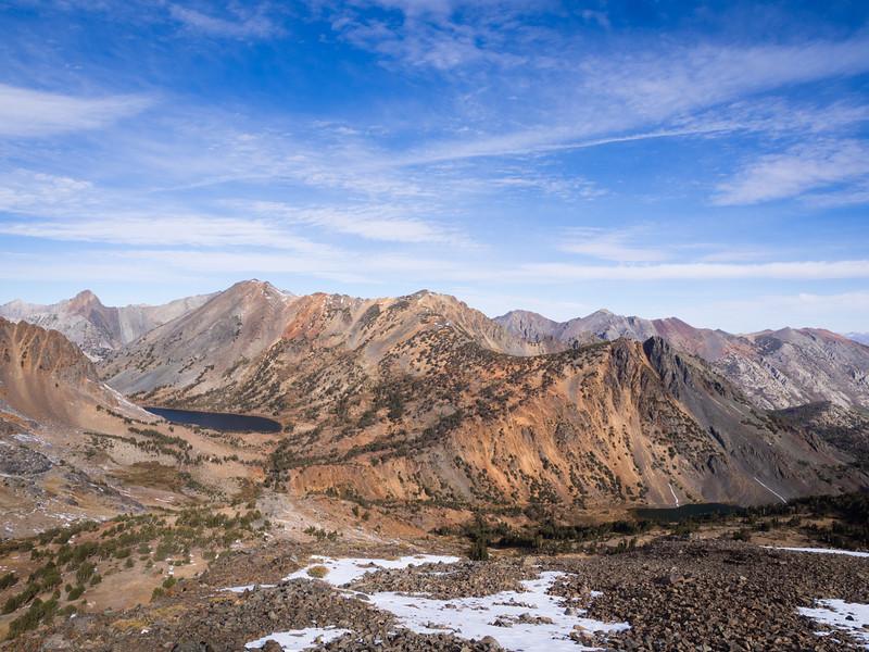 Summit Lake basin