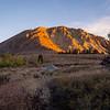 Sunrise on Dunderberg Peak