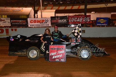 Chris Madden won the Red Buck Fast Time Award