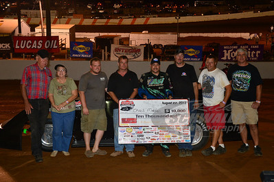 Chris Madden and crew in Victory Lane