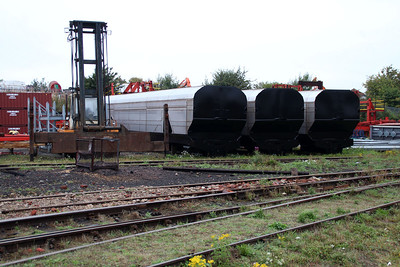 More Biomass Bodies in the yard awaiting construction.