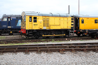 08417 shunting at Derby RTC.