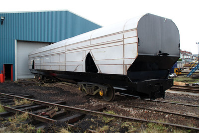 New Biomass Wagon awaiting to go in to be finished next is thought to be 83700698024.