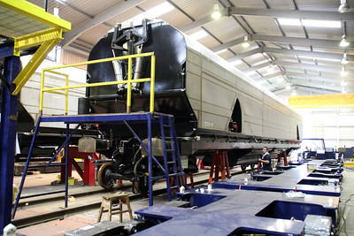 New Biomass Wagon 83700698020-0 nearing completion.