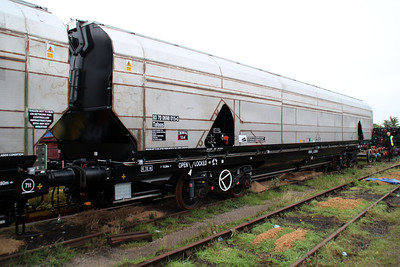 New Biomass Wagon 83700698015-0 completed in the yard.