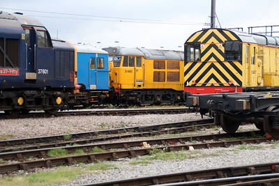 31465 seen shunting at Derby RTC.
