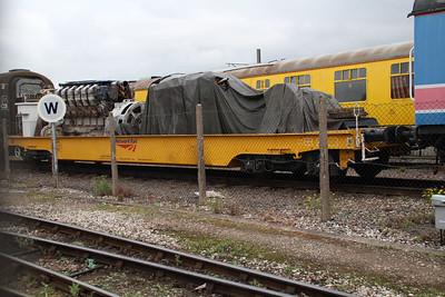 KAA flat wagon 96801 at Derby RTC.