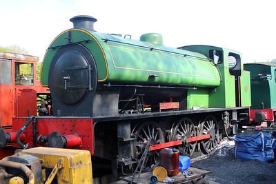 Ind 0-6-0st 3879 'Haulwen' at the Gwili Railway.