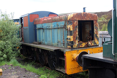 03141 at the Blaenavon & Pontypool Railway, Furnace sidings.