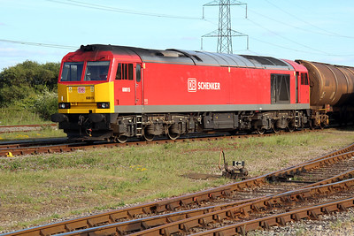 60015 sits in Margam Knuckle yard on the 6B33 Theale-Roberston tanks from earlier.