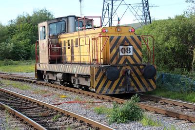 Internal User Ind loco No8 at Port Talbot Steel Works.