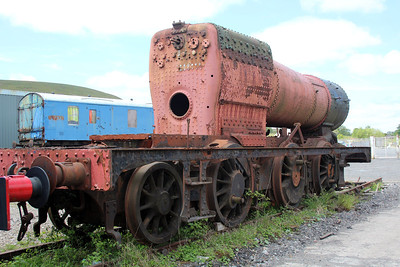 Steam 0-6-2t 5668 at the Blaenavon & Pontypool Railway, Furnace sidings.