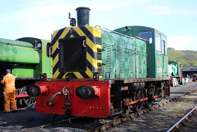 Class 03 D2178 at the Gwili Railway.