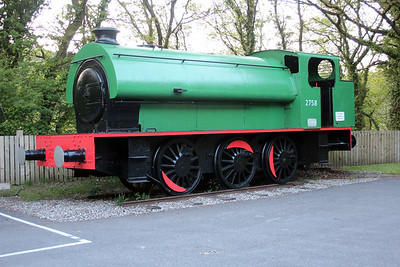 Cefn Coed Colliery Museum car park was this Ind 0-6-0st 2758.
