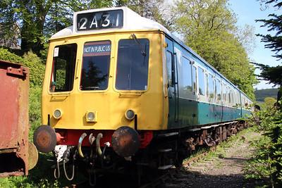 DMU W51347_51401 at the Gwili Railway.