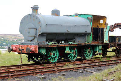 Ind 0-6-0st PD No10 / 544 seen at the Big Pit Mining Museum, Blaenavon.