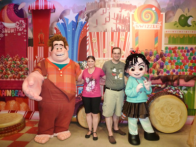 Wreck-It Ralph and Vanelope
