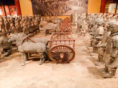 More terra cotta warriors