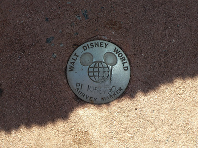 WDW Survey Marker