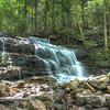 Stair Falls, Falling Waters Trail<br /> Franconia Notch State Park<br /> HDR