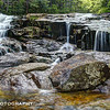 Basin Cascade Trail<br /> Franconia Notch State Park<br /> HDR
