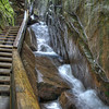 The Flume Gorge<br /> Franconia Notch State Park, Lincoln NH<br /> HDR
