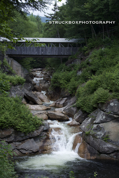 """""""The Pool"""" at the Flume<br /> Franconia Notch State Park"""