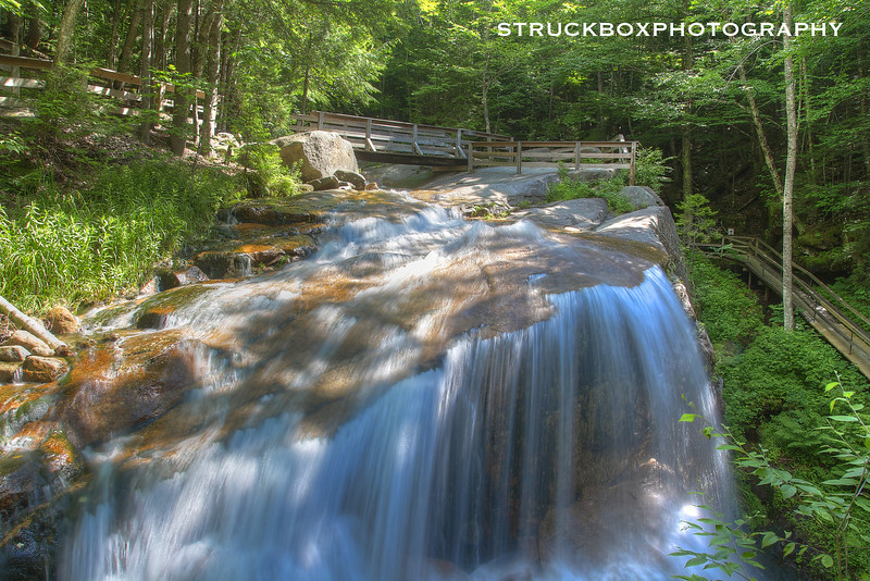 The Flume<br /> Franconia Notch State Park<br /> HDR