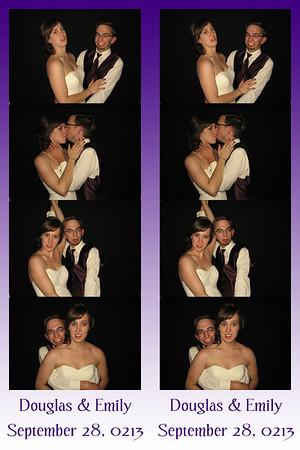 Emily and Douglas September 28, 2013