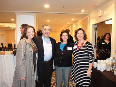 Belinda Buscher, David Blum, Vivian Blum and Kiera Reilly