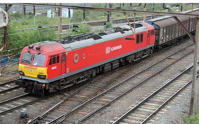 92016 0932/6B20 Dollands Moor-Wembley passes Wileesden Jct.