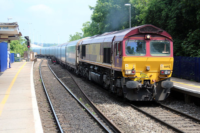 66192 1154/4o40 Cowley-Soton passes Reading West.