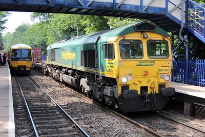 66543 1116/4m28 Soton-Ditton passes Reading West.