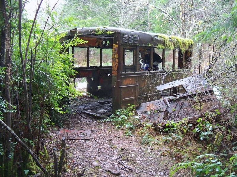 "Rachelle in the ""Bus"""