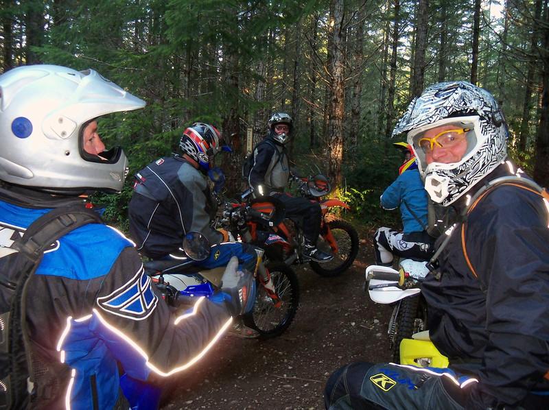 Wednesday ride with Craig, Marty, Steve, Steve, & Bart