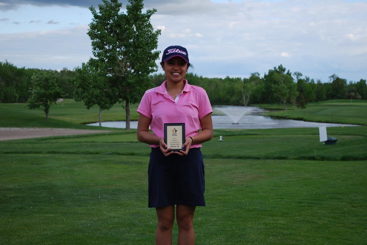 Eleanor Yorobe, Braemer Golf Club City & District Runner Up