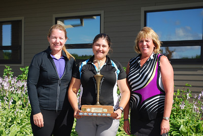 Interclub A Gross Winners, Elmhurst - Angela Martens, Bri - ann Tokariwski and Cindy Brasko