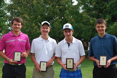Junior Interclub Rural Winners, Steinbach - Ryan Kehler, Cole Peters, Bailey Funk and Spence Kauenhofen